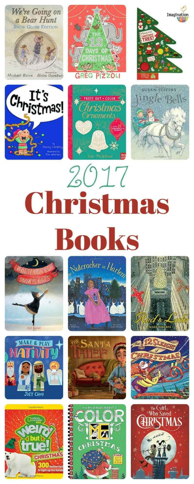 Kids Will Love These Festive 2017 Christmas Books