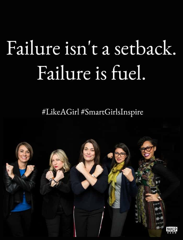 words of wisdom from the Fueled by Failure Summit from Amy Poehler's Smart Girls and Always #LikeAGirl