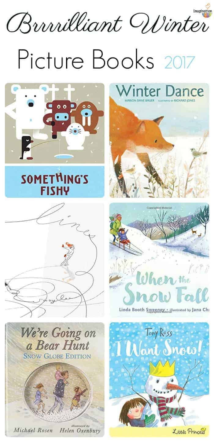 brilliant winter picture books 2017 - great to read aloud to young kids