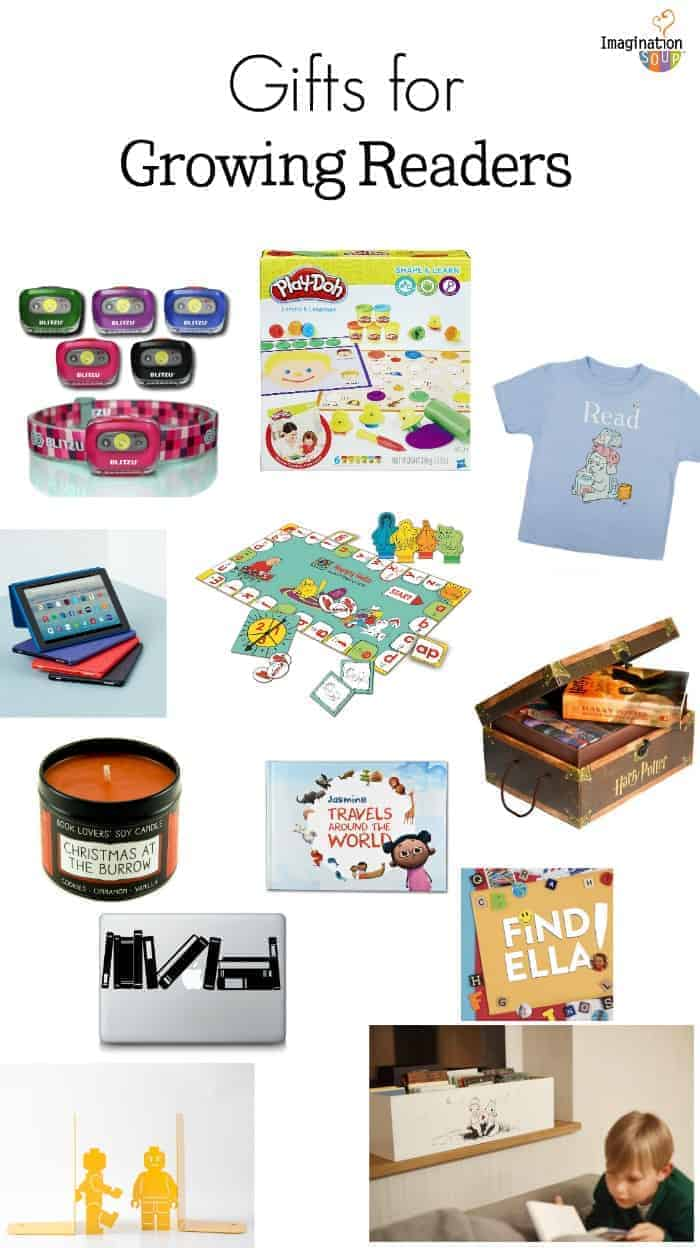 fun reading gift ideas for kids