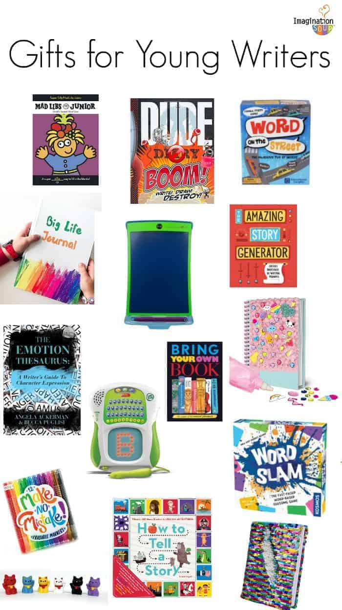 Gifts for young readers and writers imagination soup ideas for kids awesome ideas for kids who love to write negle Image collections