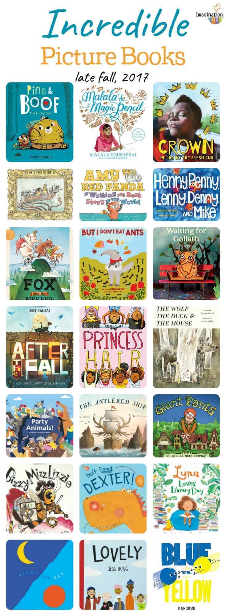 teachers and parents, you won't want to miss these incredible new picture books (fall 2017)