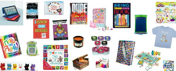 literacy gifts for kids readers writers
