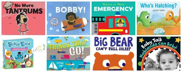 Strong Board Books to Finish Up the Year