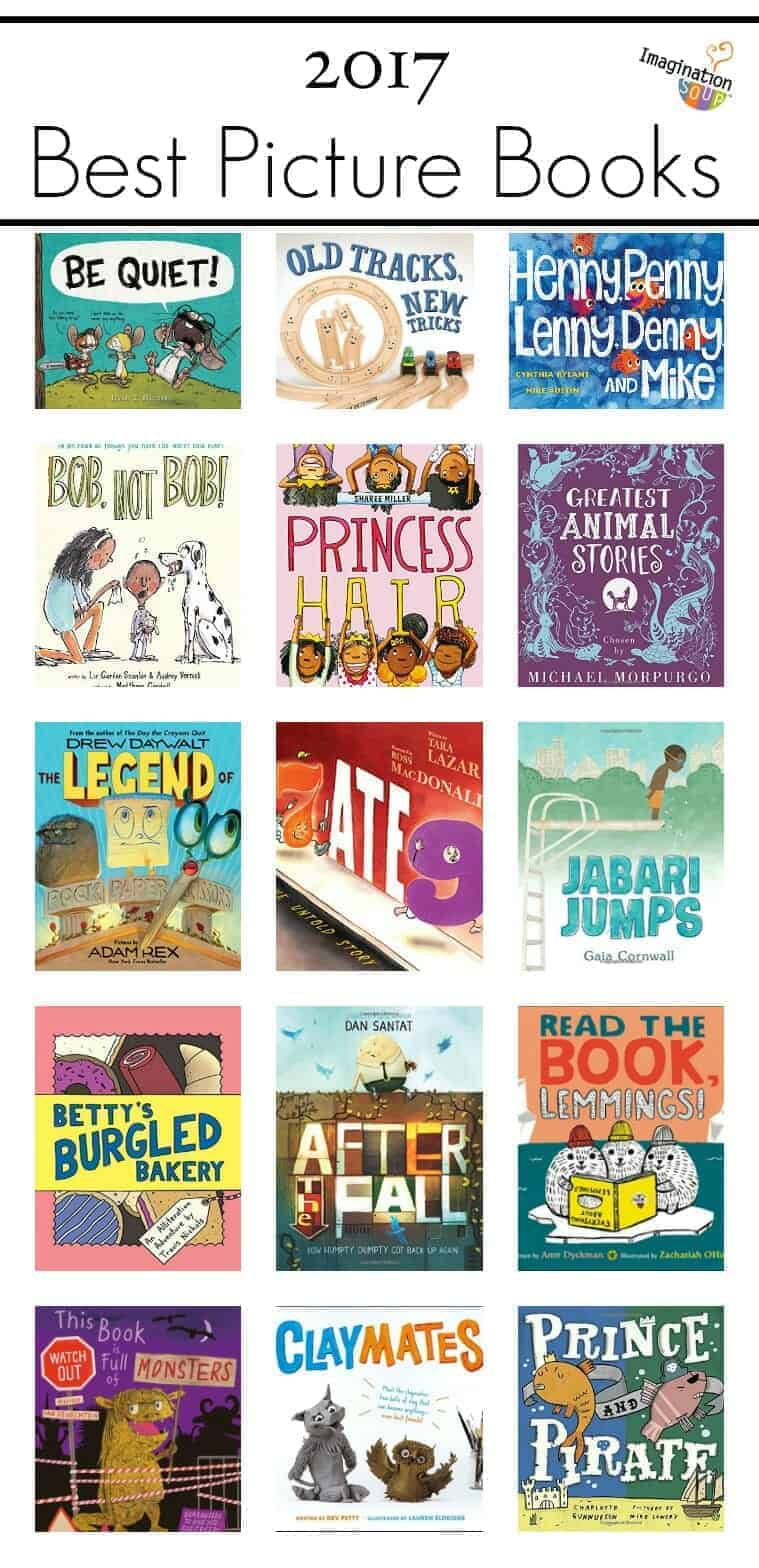 Best children s picture books of 2017 imagination for Best craft books 2017