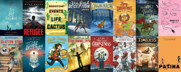 best chapter books middle grade 2017