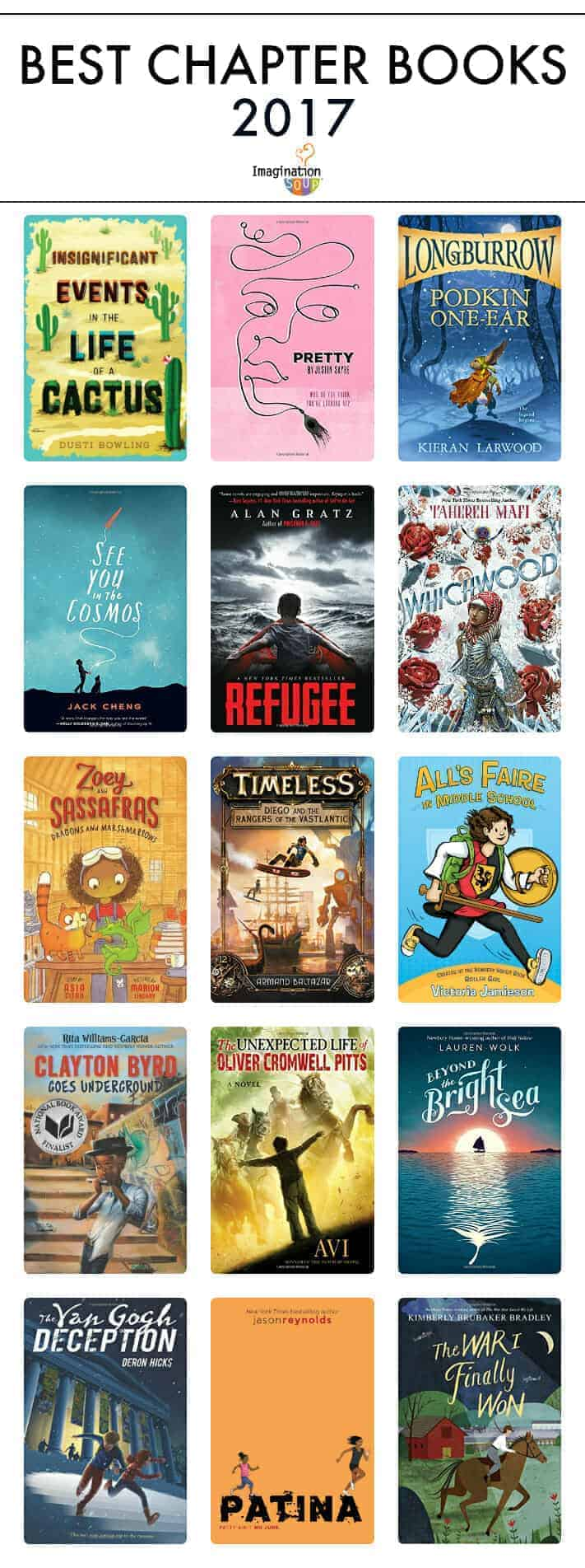 the best children's chapter books, 2017
