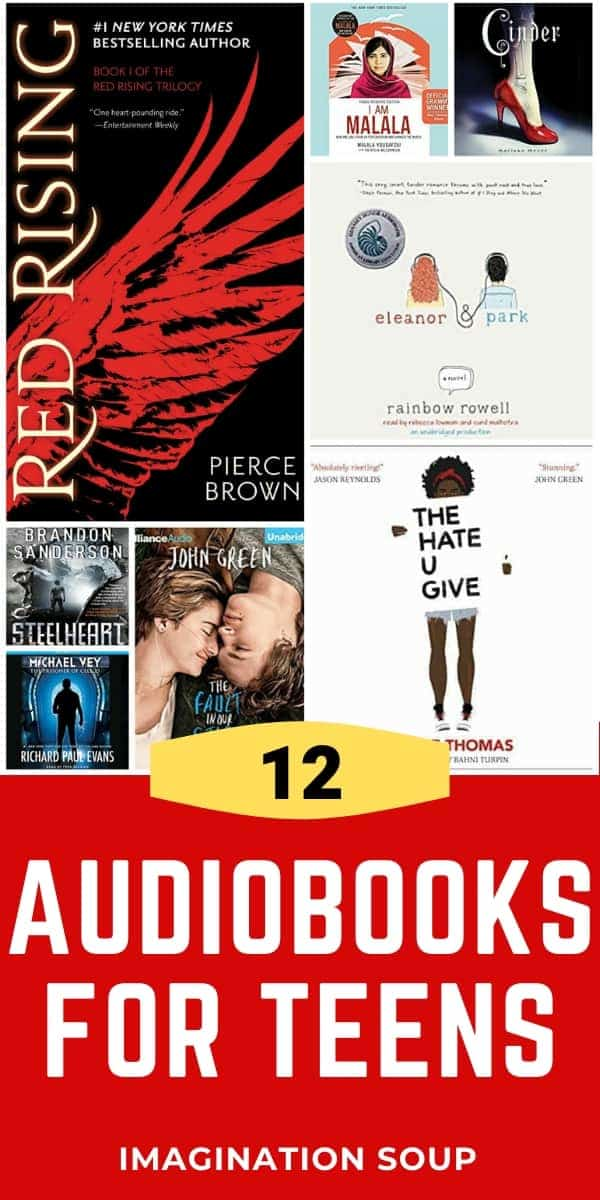 12 audiobooks for teens