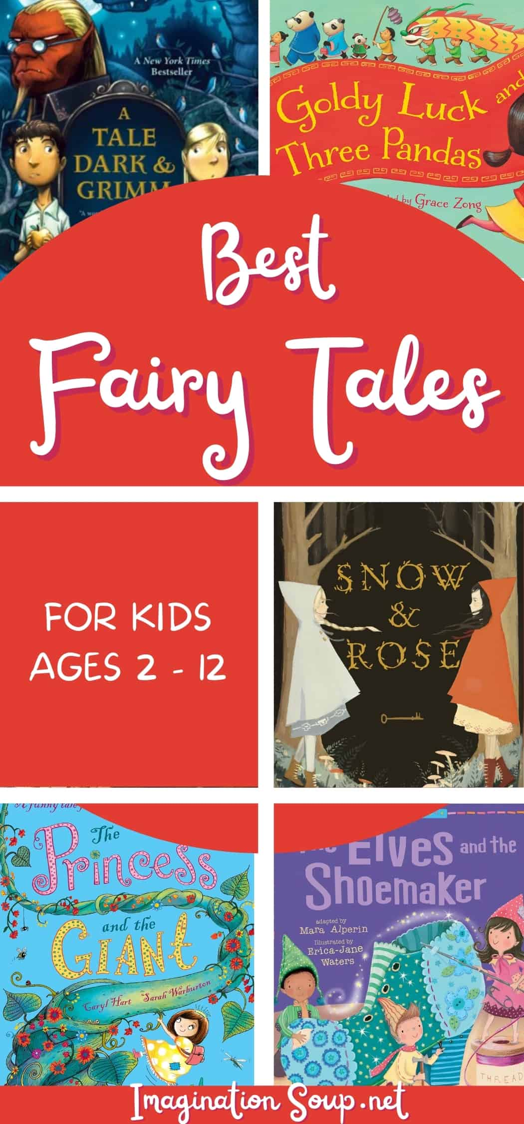 Best Fairy Tales for Kids Ages 2 to 12