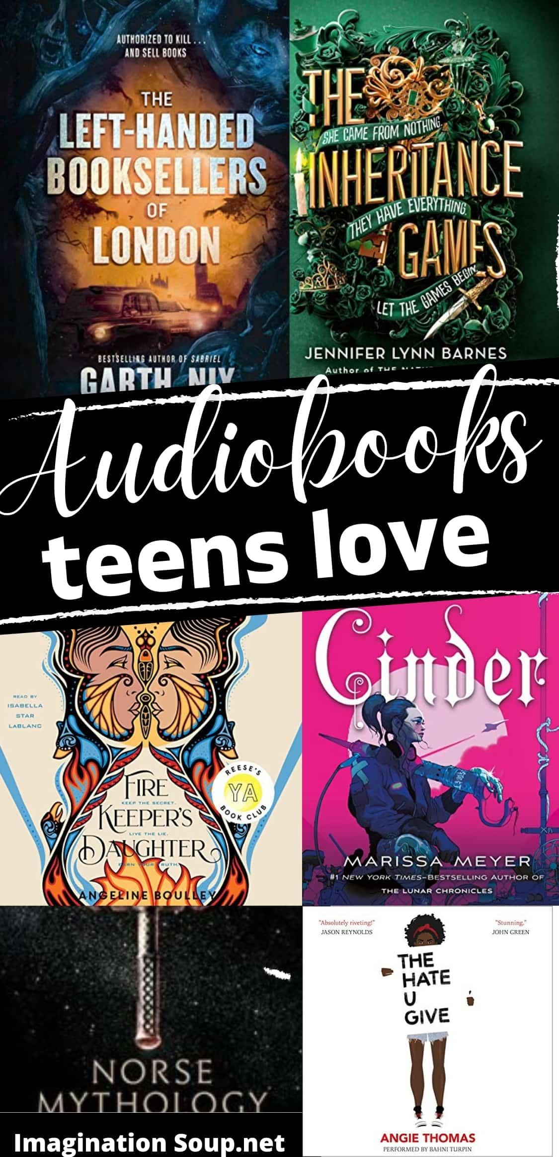 Best YA audiobooks for teens