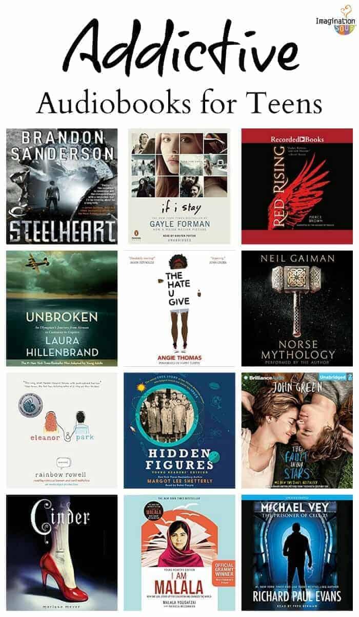 the best YA audiobooks for teens