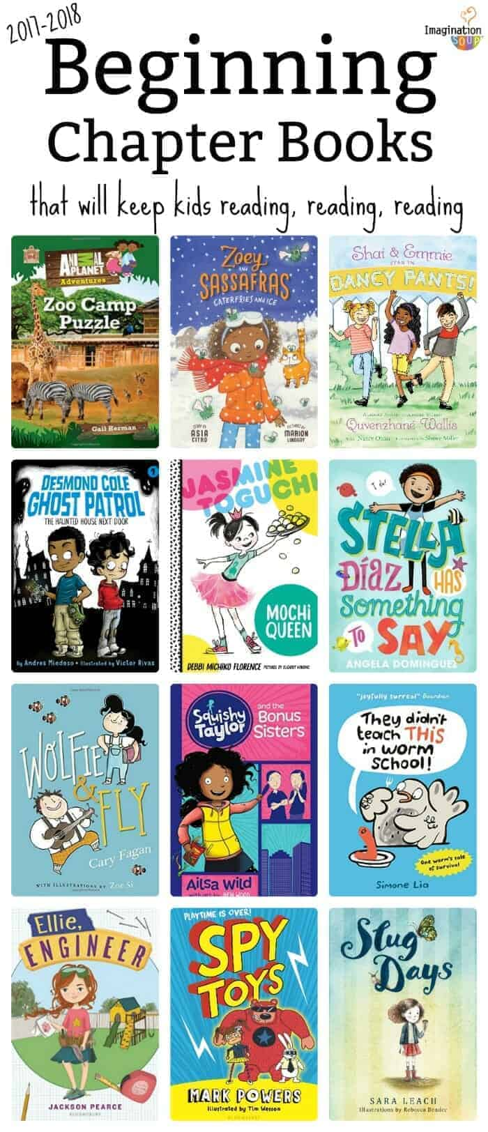 beginning chapter books to get your growing readers reading