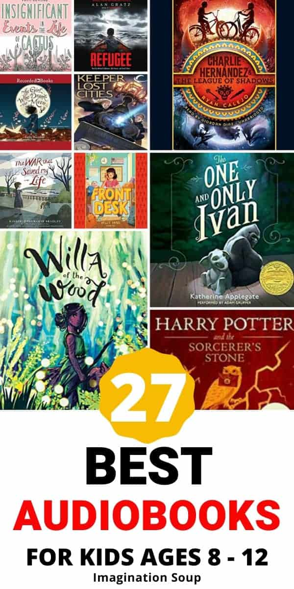 best audiobooks for kids ages 8 to 12
