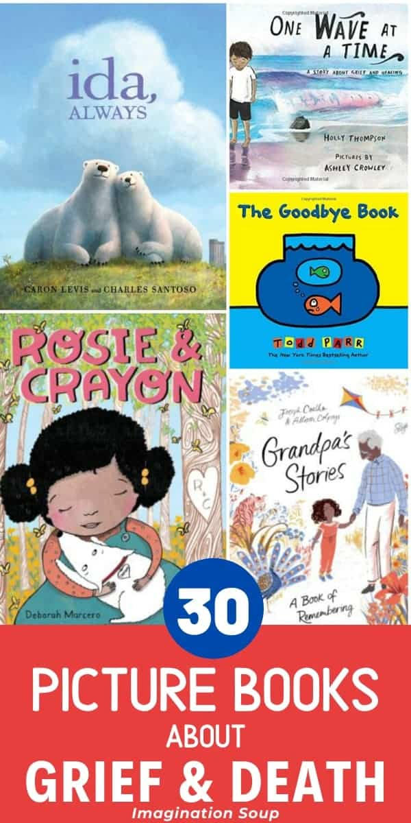 helpful children's books about grief and death for kids