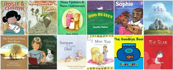 Helpful Children's Picture Books About Grief and Death