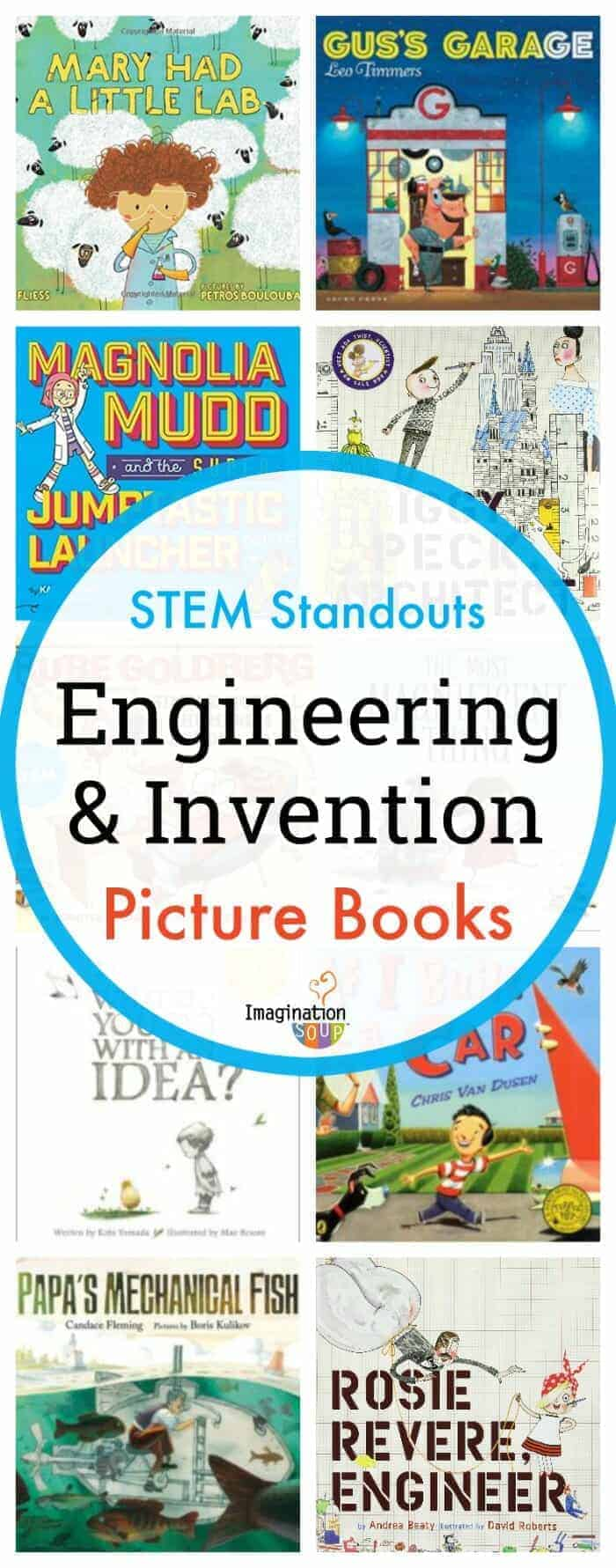 11 Standout STEM Engineering and Invention Picture Books