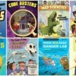 The Best STEM & STEAM Chapter Books for Kids