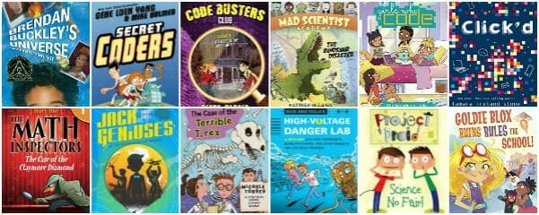 25 Best STEM (STEAM) Chapter Books for Kids