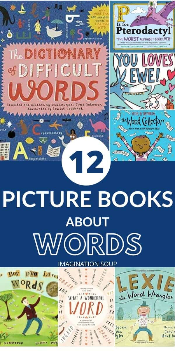 the best picture books about words
