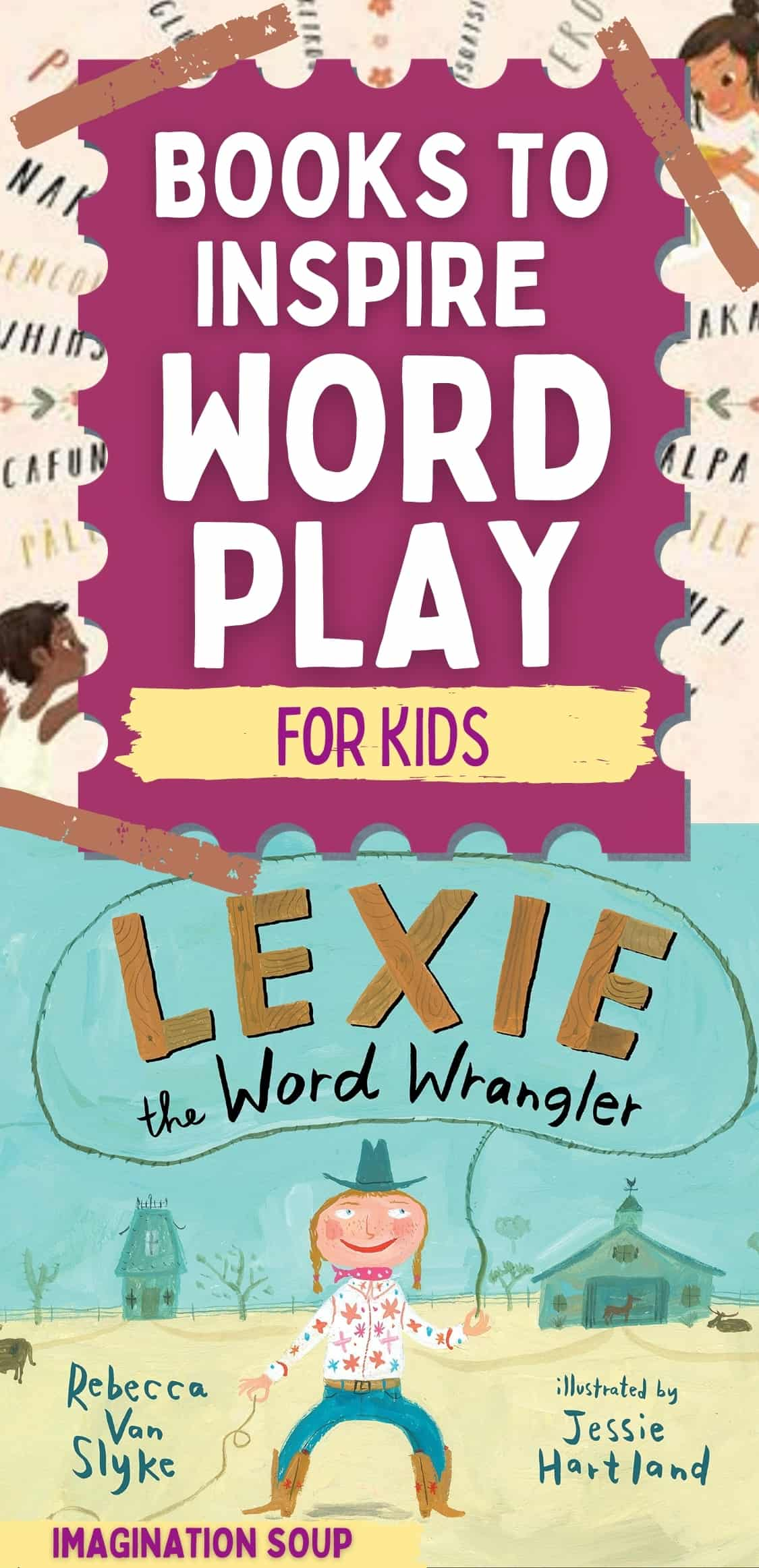 Picture Books to Inspire Wordplay for Kids