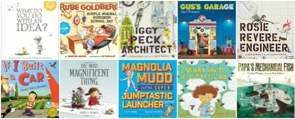 12 Standout STEM Engineering and Invention Picture Books