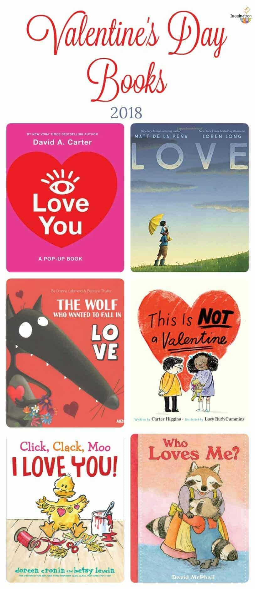 Beautiful Valentine's Day Books for Kids, 2018