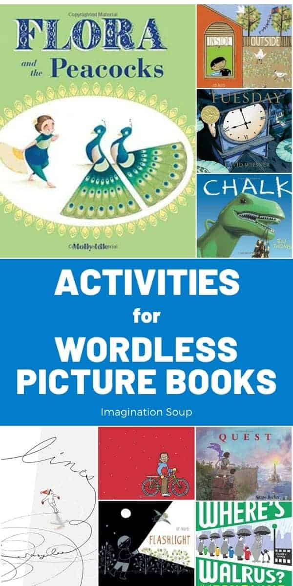activities for wordless picture books