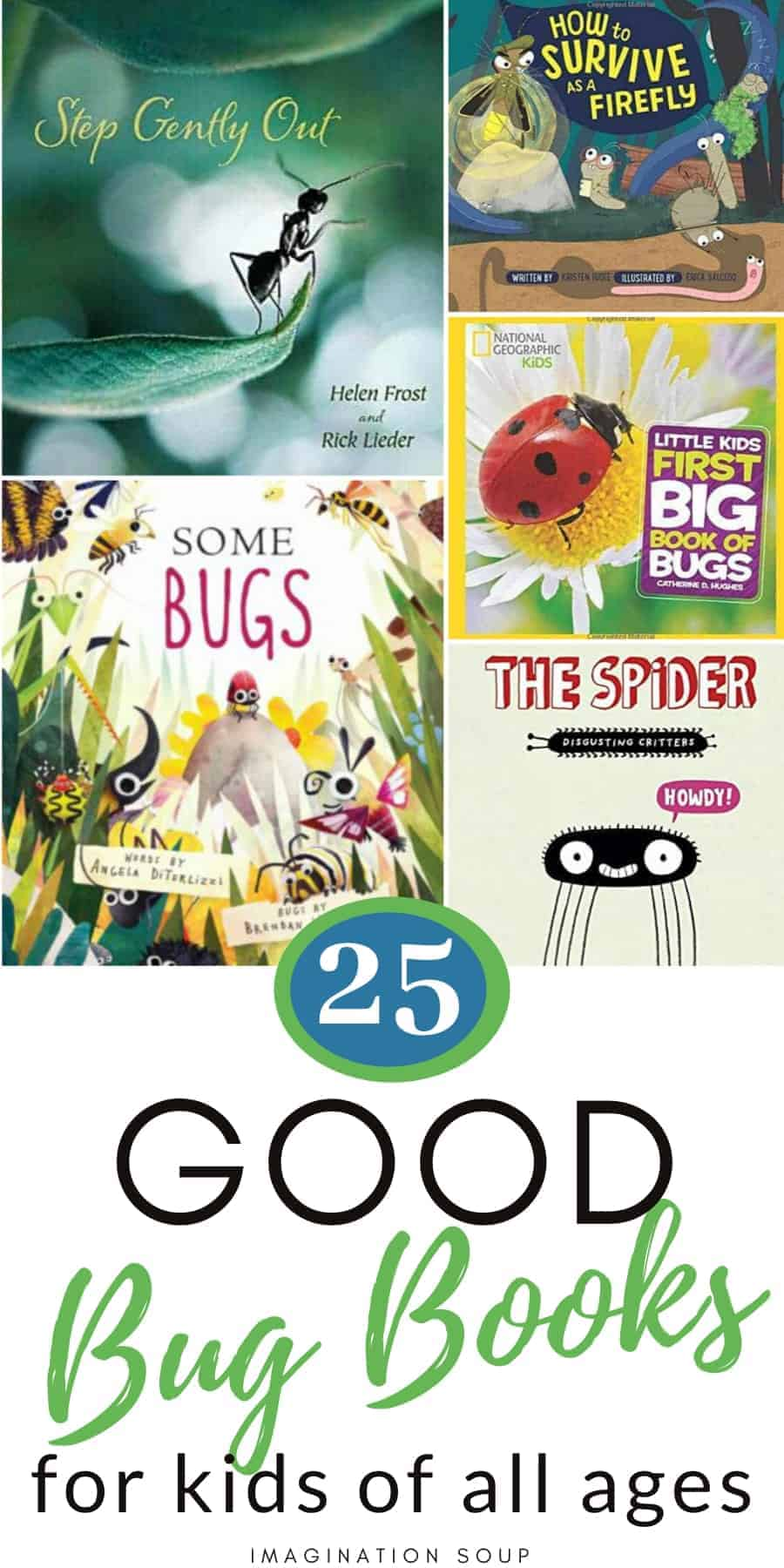best children's books about bugs