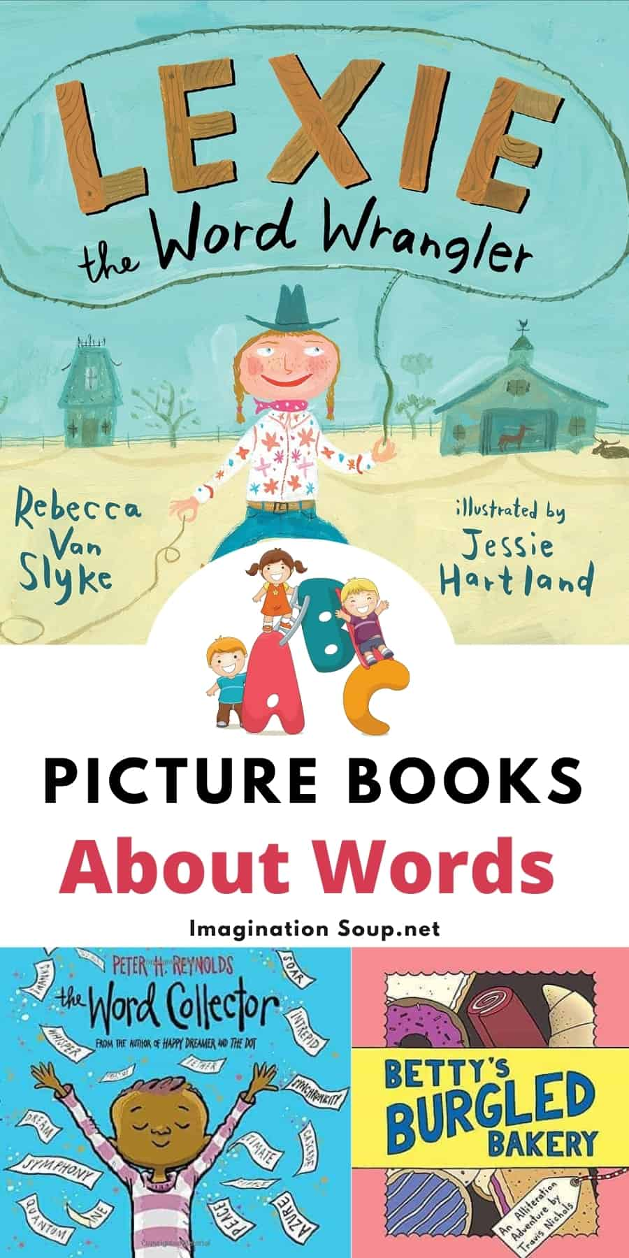 good picture books about words