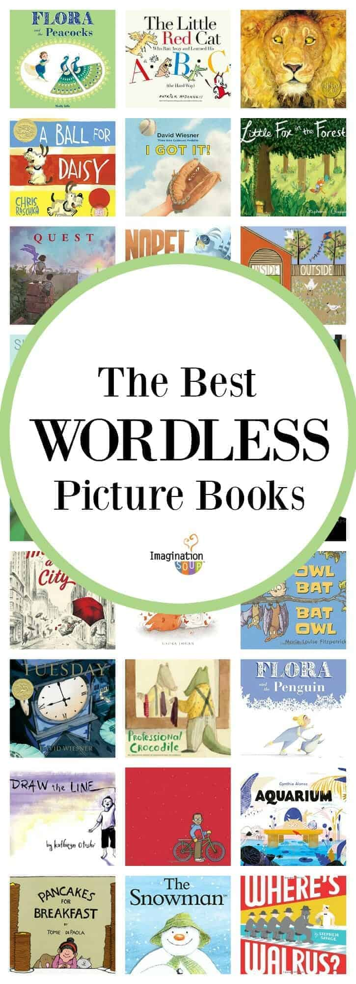 reading and writing activities for the best wordless picture books