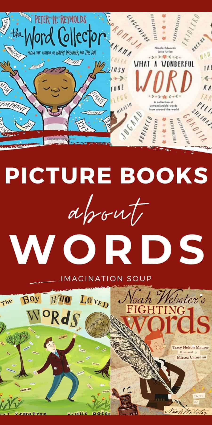 picture books about words
