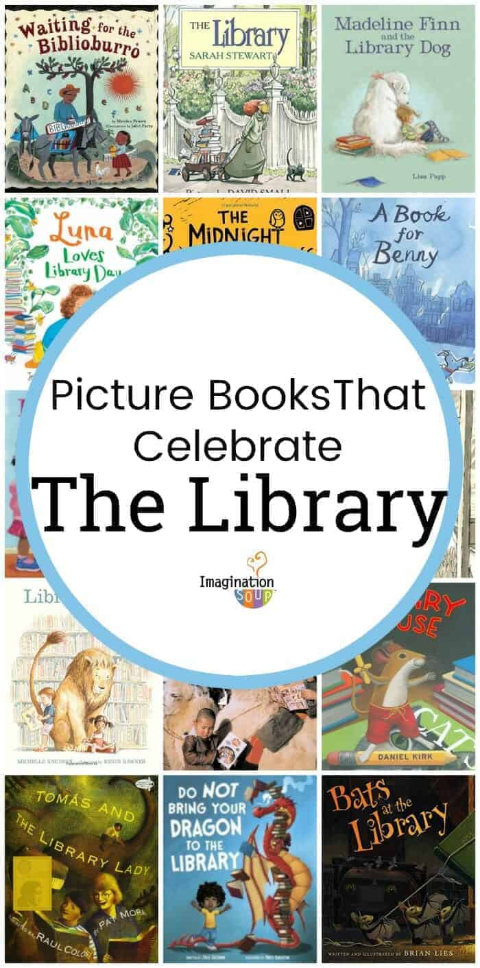 Picture books that celebrate the library and librarians fandeluxe Images