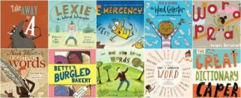 picture books that celebrate words and word play