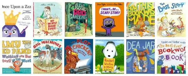 picture books that show the writing process