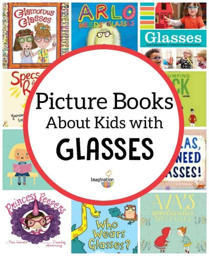 picture books about children (and animals) who wear glasses