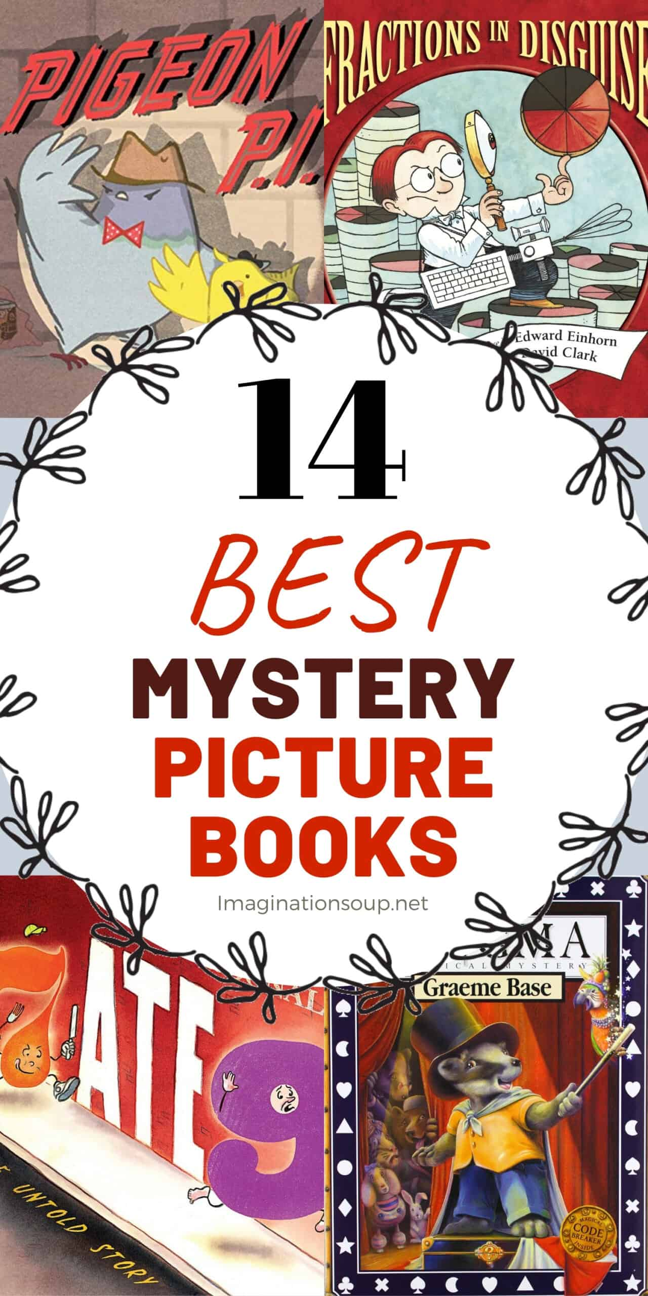 14 best mystery picture books