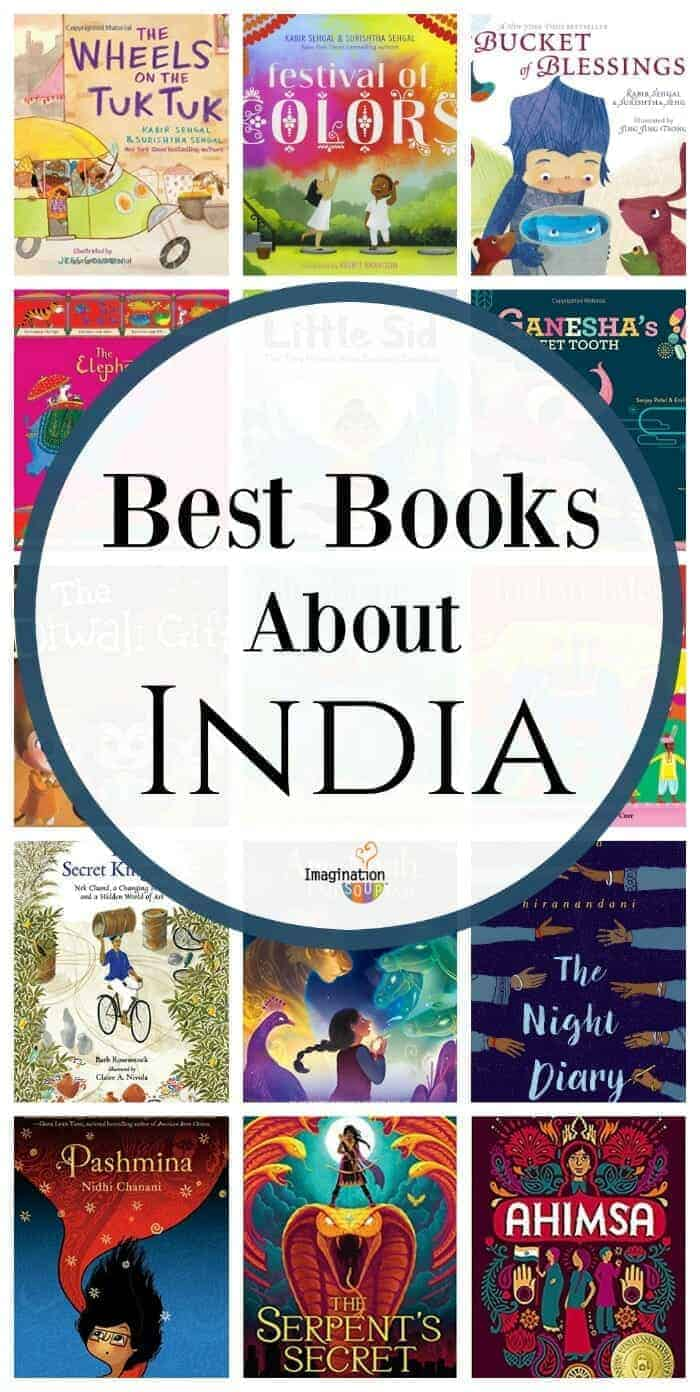Great list -- Best Children's Books About India, Indian Culture, and Indian Mythology #childrensbooks #india
