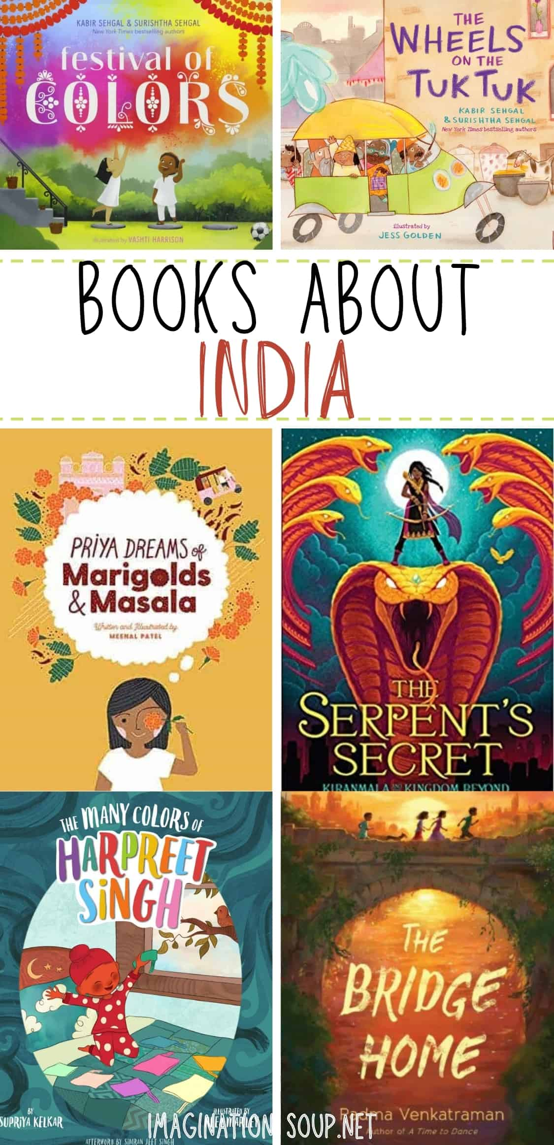 Children's Books About India and Indian Culture