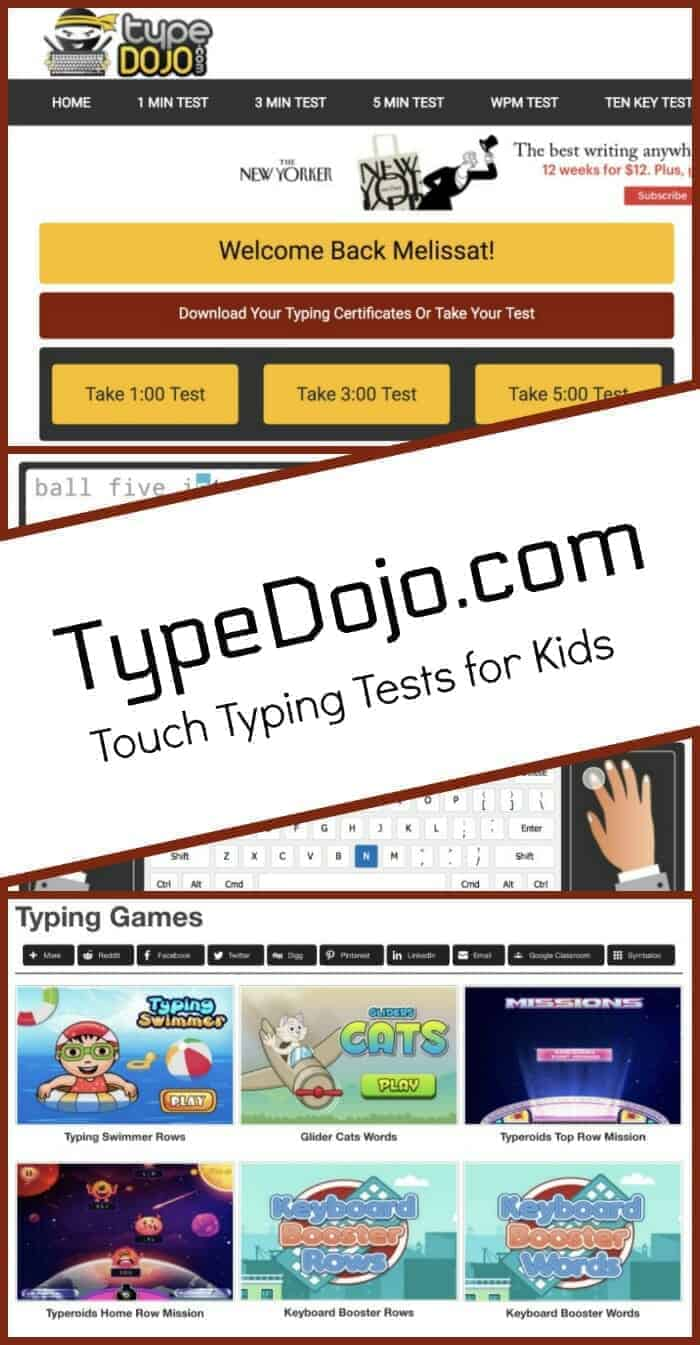 Help Kids Improve Touch Typing With Typingdojo