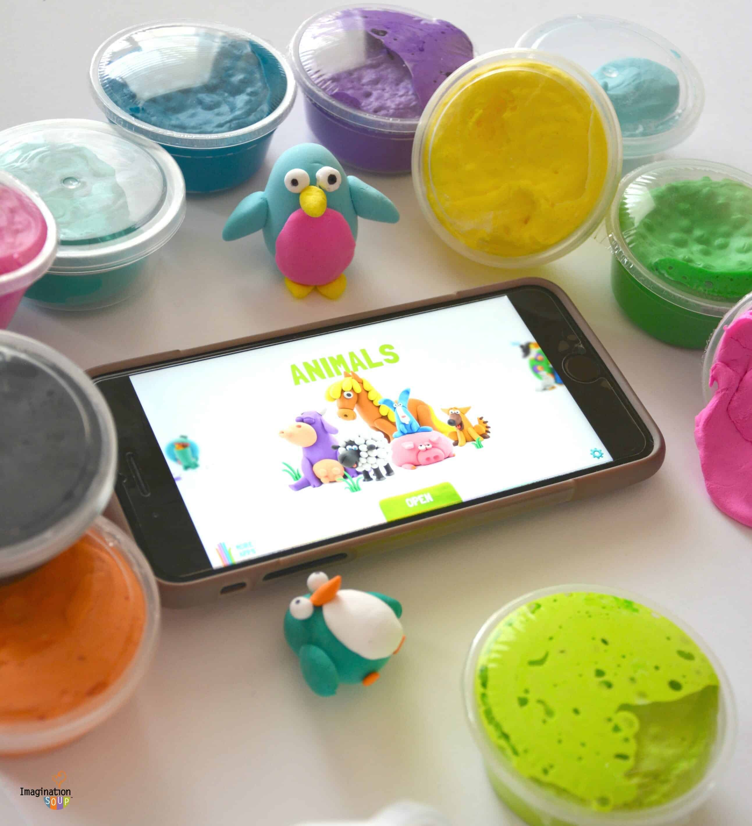 Hey Clay Modeling Clay App for Kids