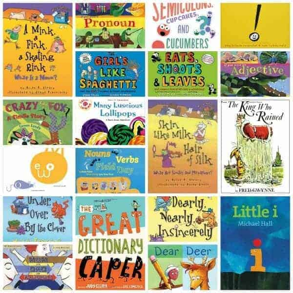 Picture Books That Teach Grammar, Figurative Language, and Punctuation