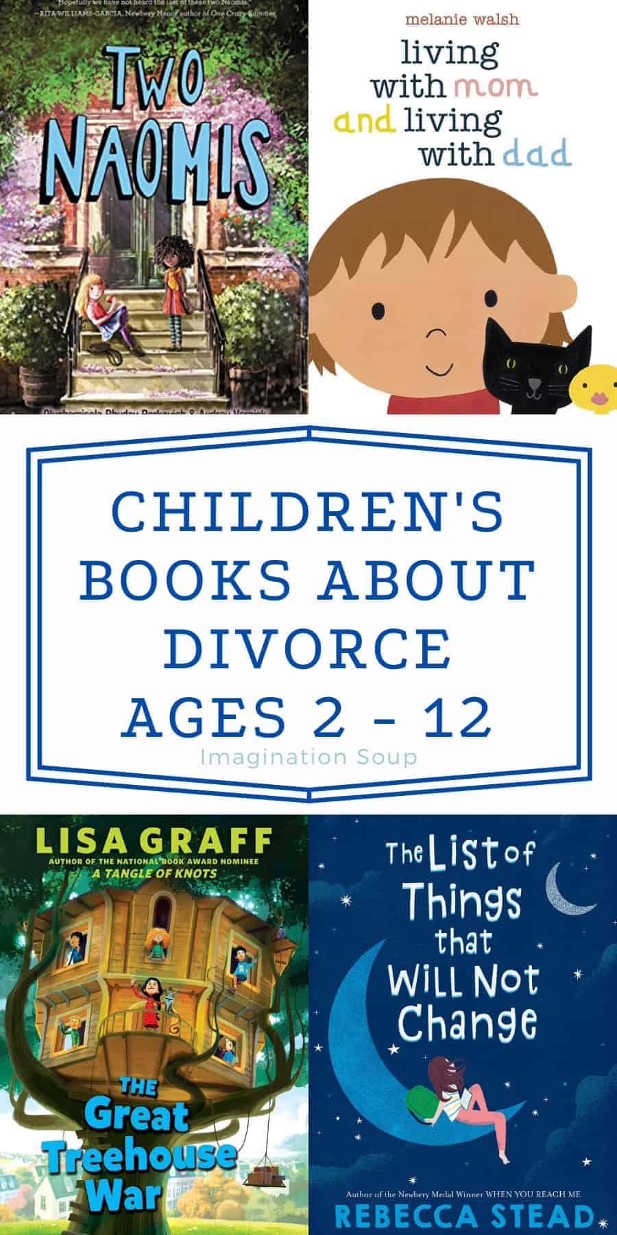 Recommended Children's Books for Kids About Families with Divorced Parents