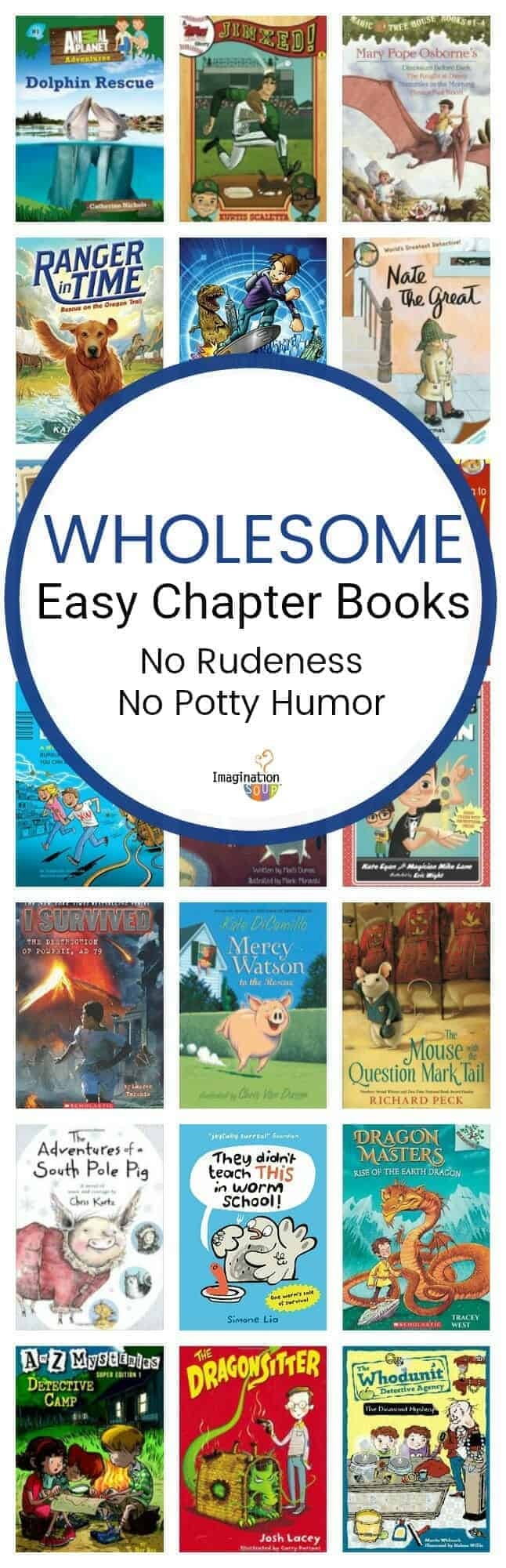 A Wholesome Early Chapter Book List for Boys (No Potty Humor, No Rudeness)
