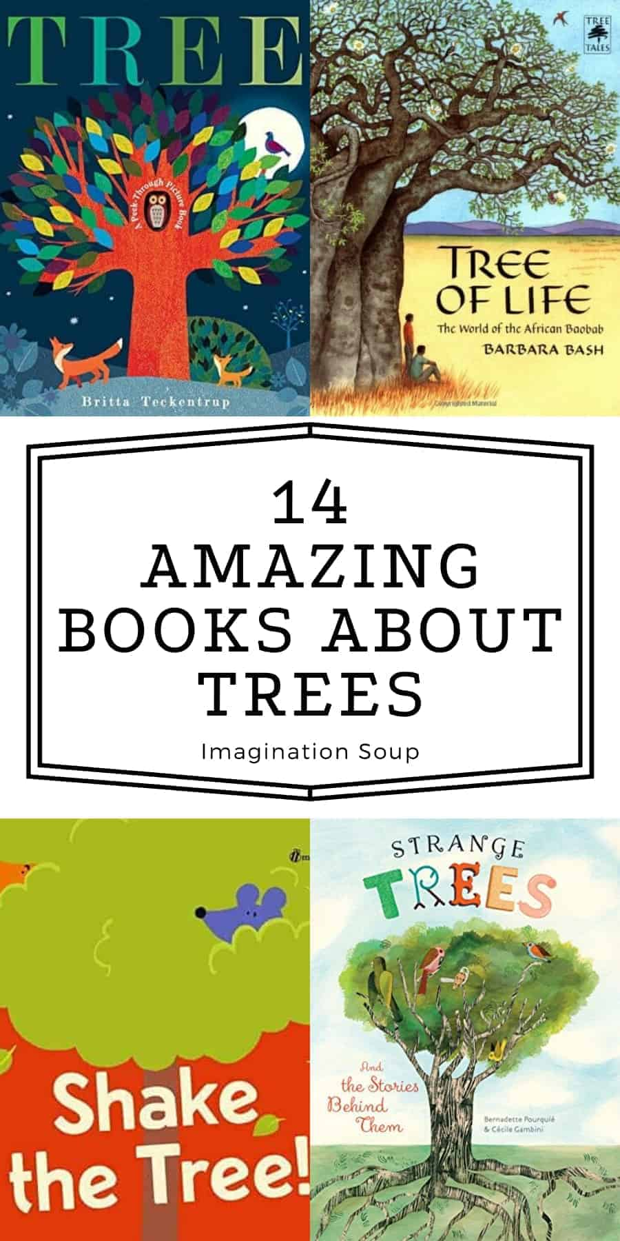 amazing books for kids about trees