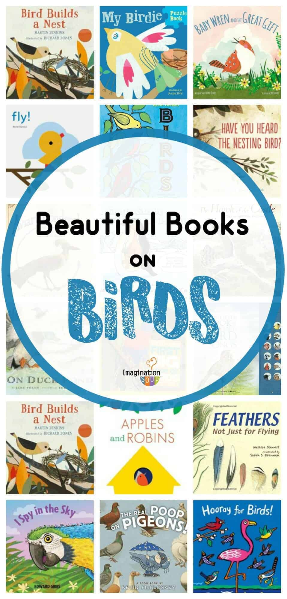 beautiful children's books about birds