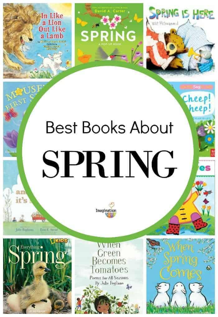 best children's books about spring