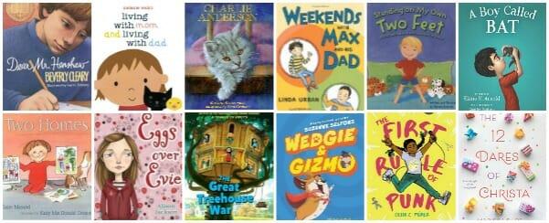 children's books about divorced families divorce