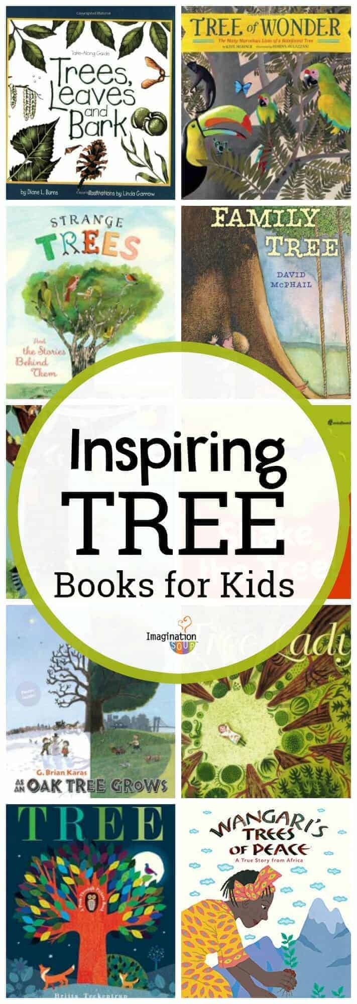 inspiring and informative children's books about trees