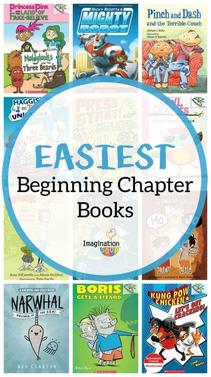 easiest easy beginning chapter books for new readers
