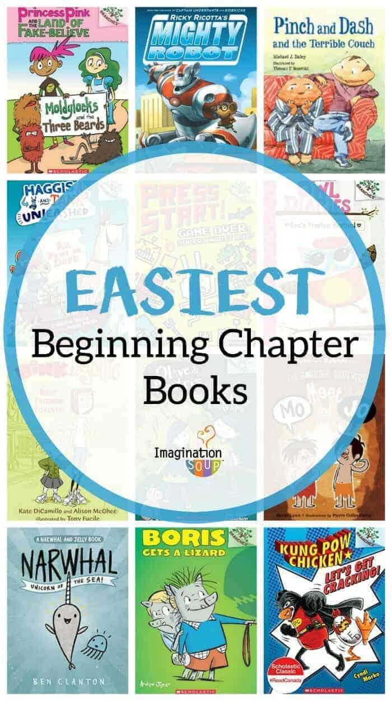 easiest easy beginning chapter books for new readers